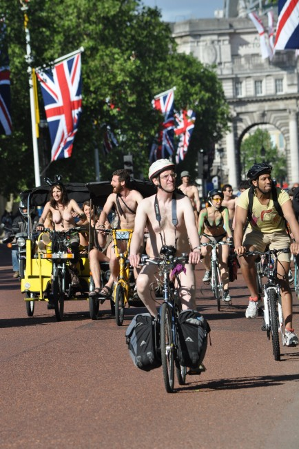 London Nude Cycle Ride