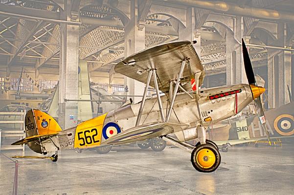 DAVID WOODS Hawker Nimrod Mk II