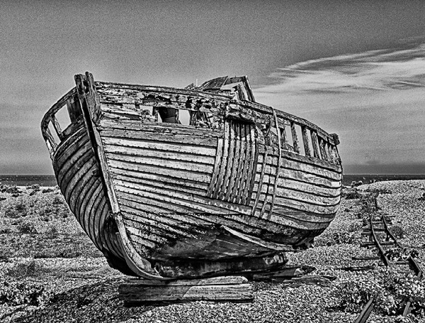 David Woods Abandoned at Dungeness