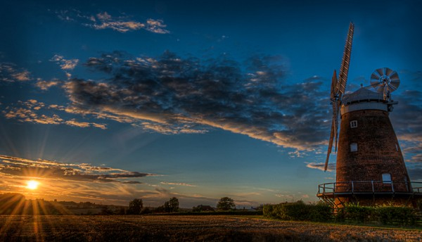Mark Seton (Thaxted Windmill at Sunset)